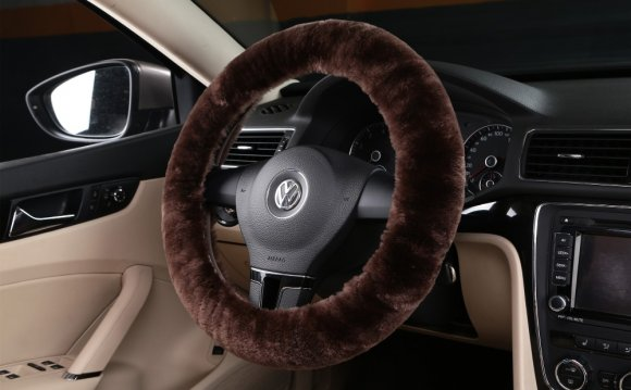 1PC New Sheepskin Fur Leather