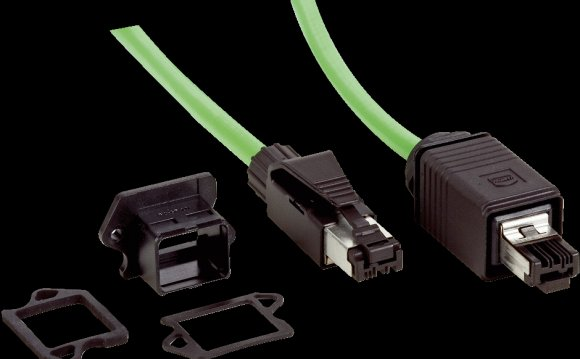 Ethernet patch cable (male