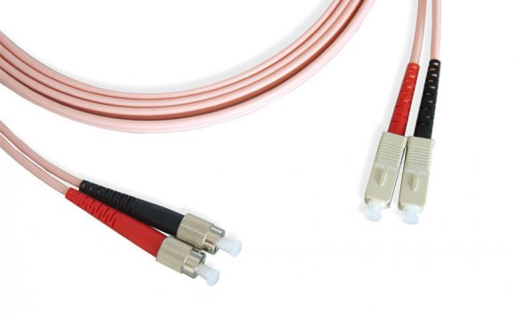 To FC Duplex Fiber Optic Patch