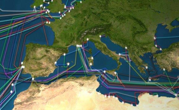 Global fiber-optic internet