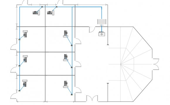 Wireless mesh Cisco network