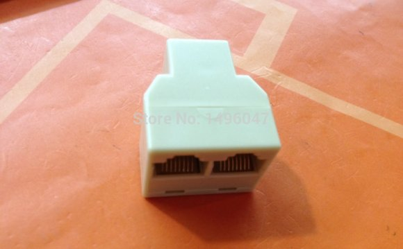 1Pcs 3RJ45 for CAT5 Ethernet