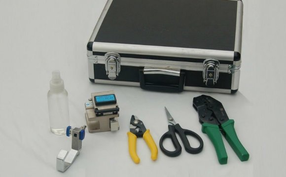 Optical fiber splicing kits