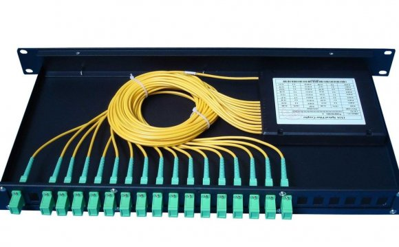 24 fiber patch panel