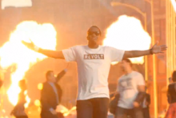 Diddy and Time Warner Cable promote his new Revolt network