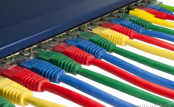 What color is an Ethernet cable?