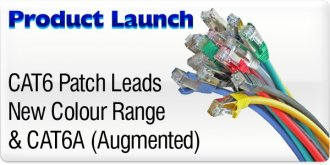 Product Launch - Cat6 Colour Range & New Cat6A 500Mhz cables