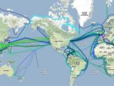 Ocean Fiber Optic Cables Map