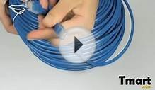 27.63 60m 200FT RJ45 CAT5 Ethernet Lan Network Cable Blue