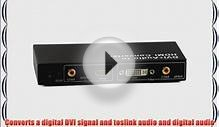 Cable Matters DVI and Coaxial/Toslink Audio to HDMI Converter