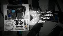Ideal Lantek 6 Cat5 Cat5e Cat6 Cable Certifier