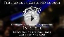 Time Warner Cable HD Lounge Video - Columbus Blue Jackets