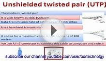 twisted pair cable in hindi | network cabling in hindi